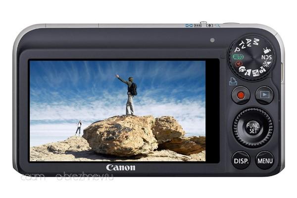 Canon PowerShot SX210 IS. Дисплей и органы управления.