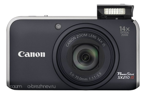 Canon PowerShot SX210 IS. Вспышка