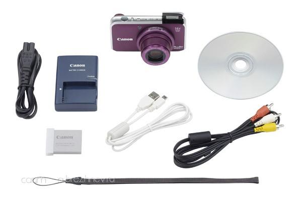 Canon PowerShot SX210 IS. Комплектность.