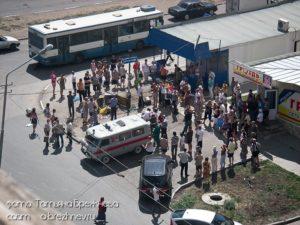 Взрыв, г.Саратов, 16.07.2010