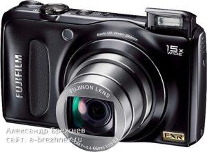 Fujifilm F300EXR Top