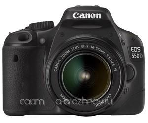 Обзор новой камеры Canon EOS 550D