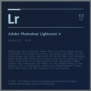 Встречаем Lightroom 4